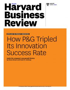 "how p g tripled its innovation success In june 2011, harvard business review published an article entitled, ""how p&g tripled its innovation success rate"" the story highlighted the company's ""new-growth factory"" that provided an array of activities including the development of a step-by-step manual for creating new-growth businesses, the use of demonstration projects to test promising."