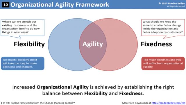 Organizational Agility Framework